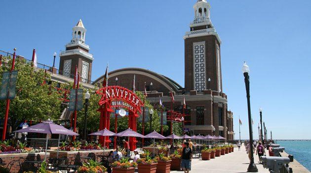 Navy Pier obchodzi 103. urodziny