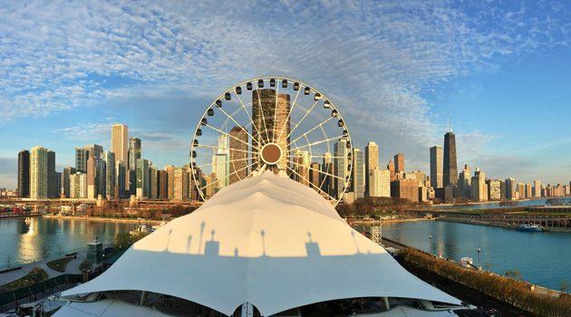Darmowy przejazd Centennial Wheel na Navy Pier