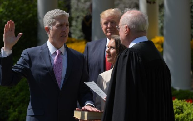 Nowy sędzia Sądu Najwyższego USA zaprzysiężony