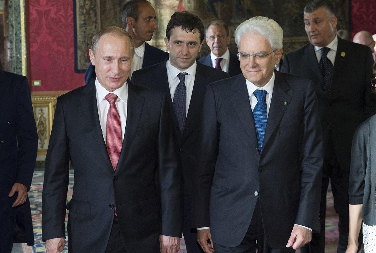 Prezydent Włoch z wizytą w Moskwie