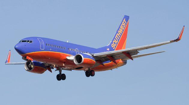 Awaryjne lądowanie samolotu Southwest