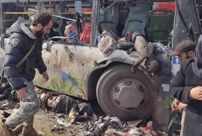 Masakra zamiast ewakuacji. 68 dzieci ofiarami wczorajszego ataku
