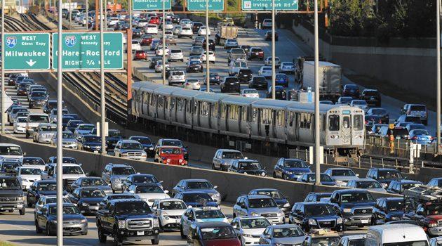 Chicagowska I-90 w czołówce najbardziej zakorkowanych autostrad w USA