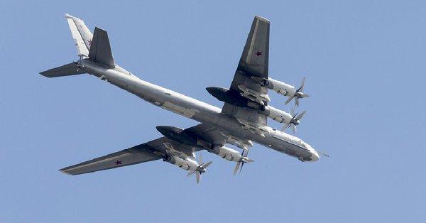 Rosyjskie bombowce u granic USA