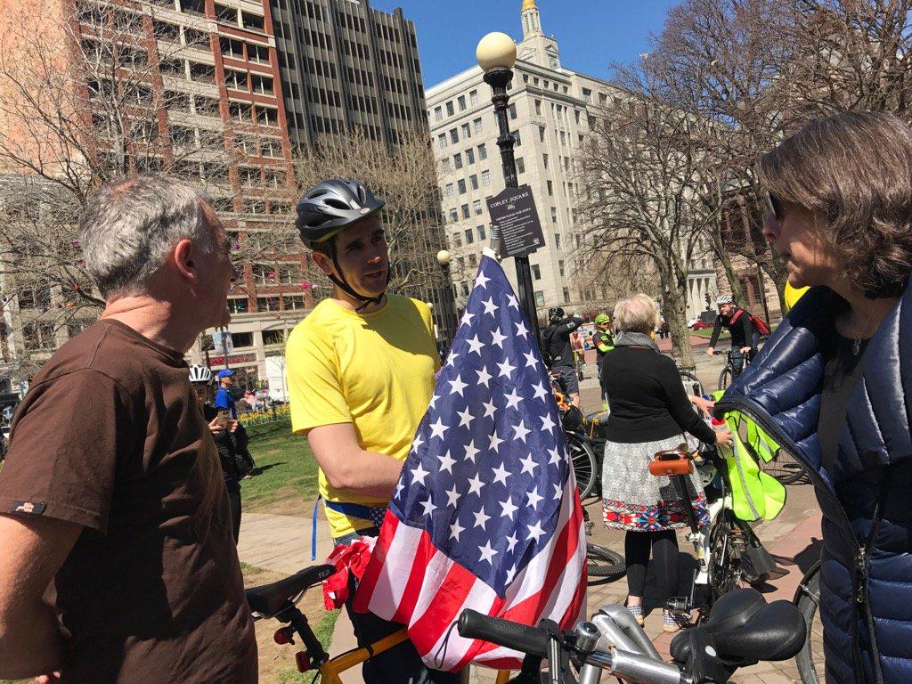 Rowerzyści demonstrowali w Bostonie, chcą nowych ścieżek
