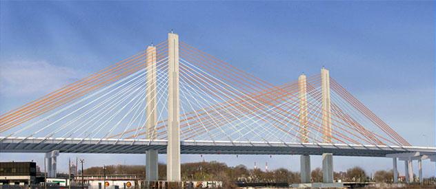 Oficjalne otwarcie Kościuszko Bridge