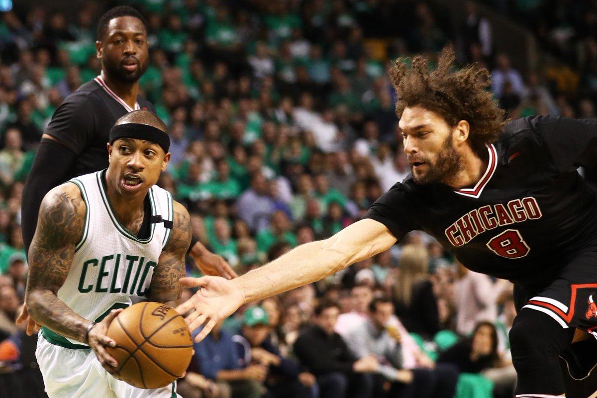 Zwycięstwo Chicago Bulls nad Boston Celtics
