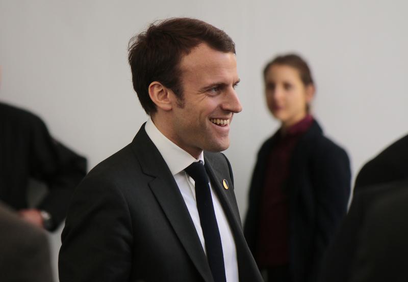 Emmanuel Macron z poparciem Komisji Europejskiej
