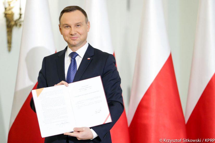 Prezydent Andrzej Duda zaostrza kary za przemoc wobec dzieci