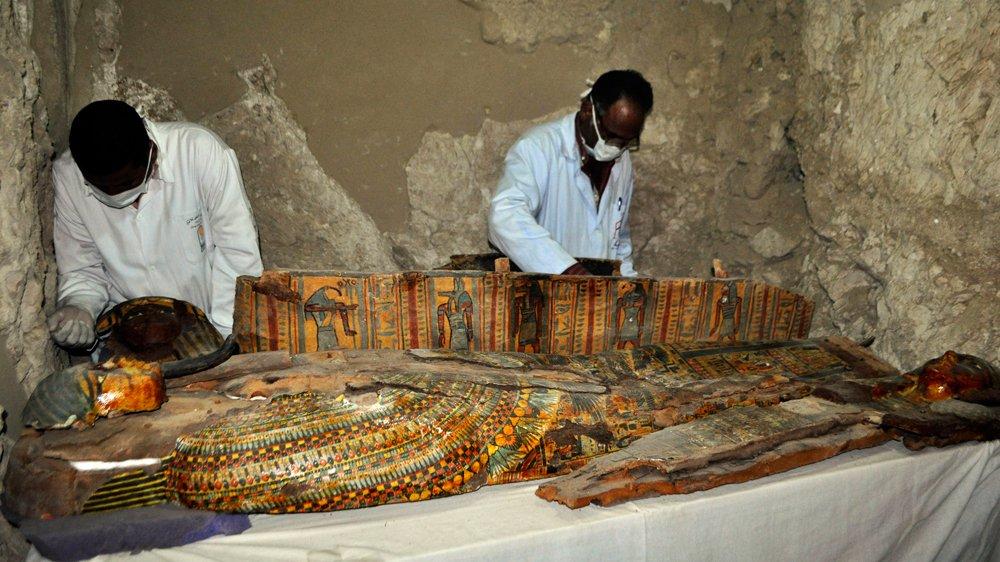 Cenne odkrycia w jednym z grobowców w Egipcie