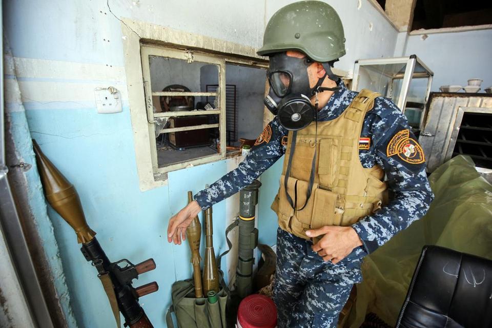 Irak oskarża ISIS o atak chemiczny w Mosulu