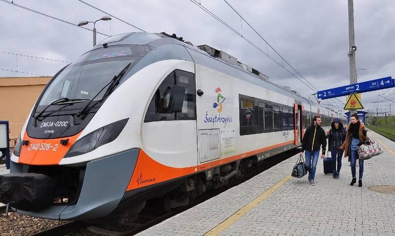 Pociąg turystyczny z Kielc do Sandomierza