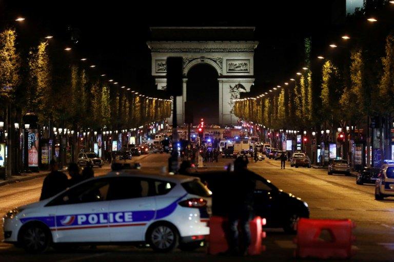 Sprawca strzelaniny na Polach Elizejskich w Paryżu zidentyfikowany