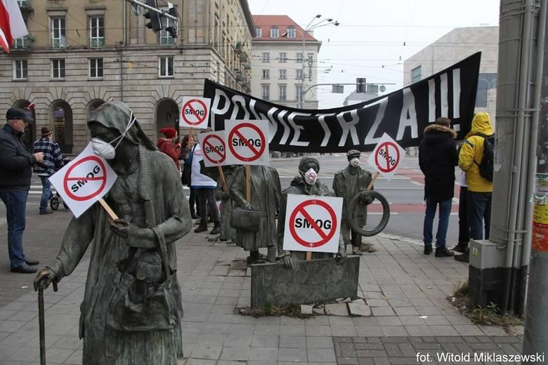Biały Marsz – antysmogowy happening we Wrocławiu