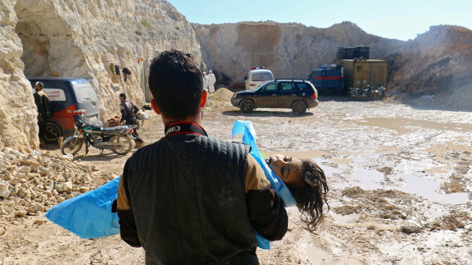Syria: Siedmiu cywilów, w tym troje dzieci, zginęło w nalotach przeprowadzonych przez rosyjskie lotnictwo