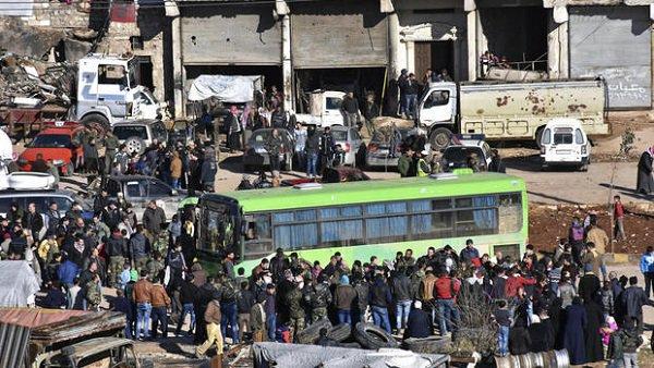 Syria: Ewakuacja dwóch miast