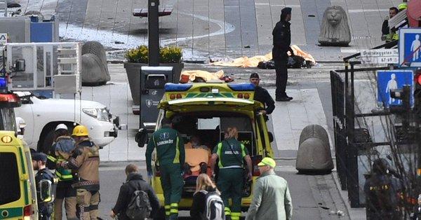 Zatrzymania w związku z zamachem terrorystycznym w Sztokholmie