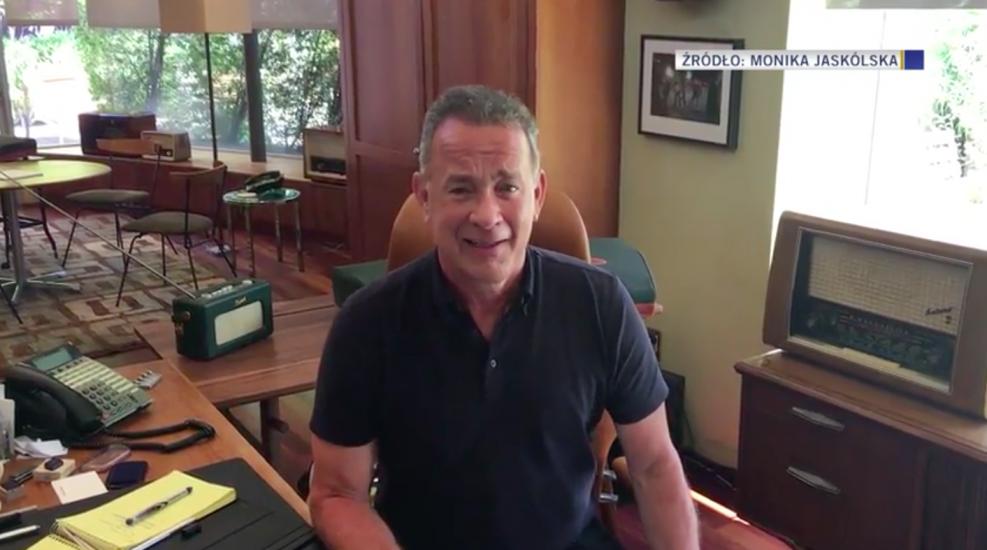 """Tom Hanks dziękuje za Malucha: """"To fantastyczne, nie zasługuję na to"""""""