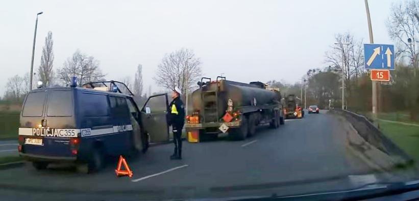 Kolejny wypadek US Army w Polsce. Tym razem Toruń (video)
