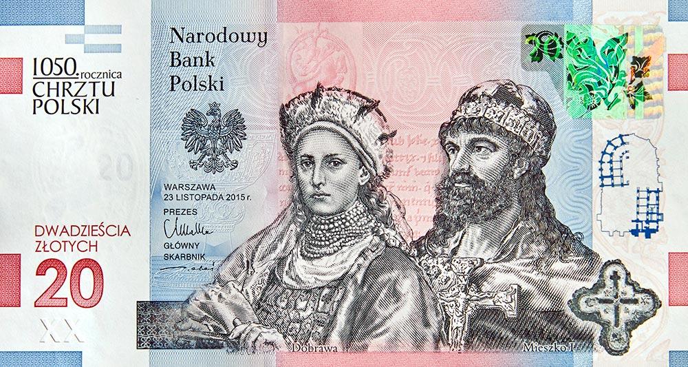 Polski banknot najlepszy na świecie!