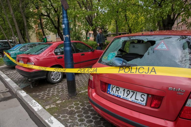 20-latek przyznał się do zniszczenia 28 aut w Krakowie