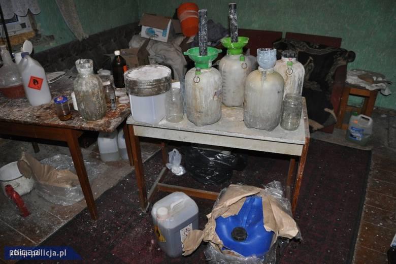 Wytwórnia amfetaminy zlikwidowana przez opolskie CBŚP