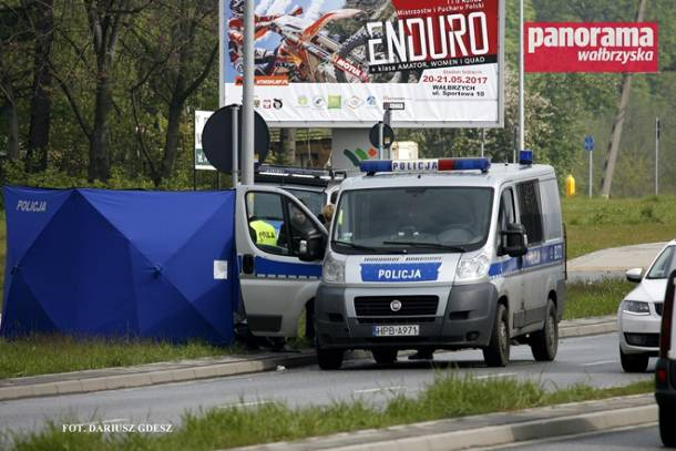 Śmierć mężczyzny w trakcie interwencji policji