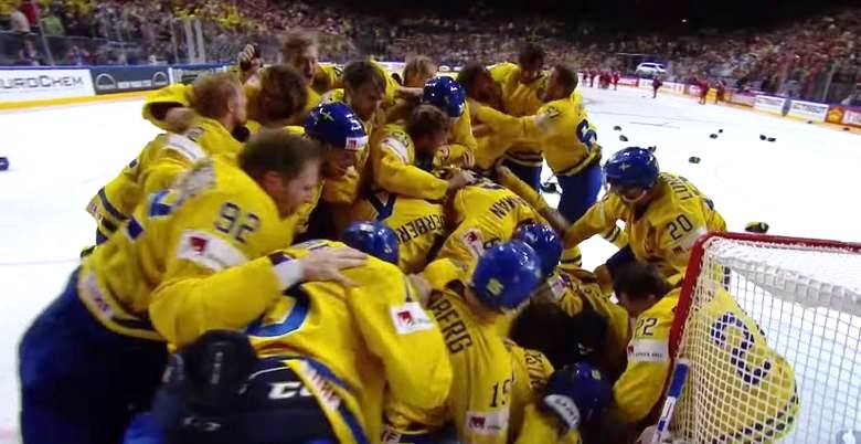MŚ w hokeju: Szwecja ze złotem!
