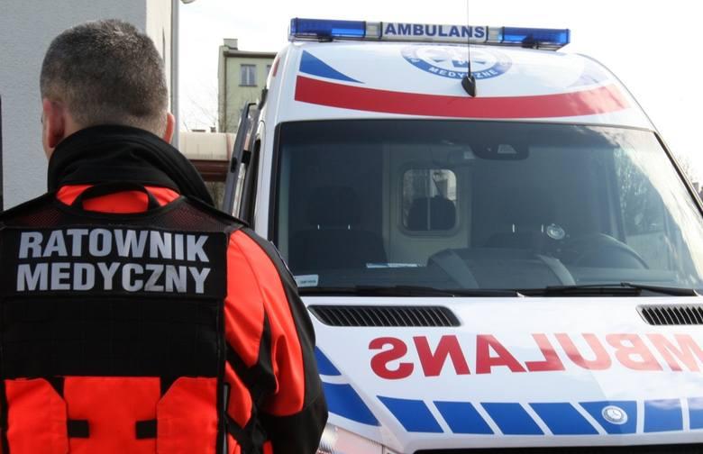 Pijany pacjent zaatakował ratowników medycznych
