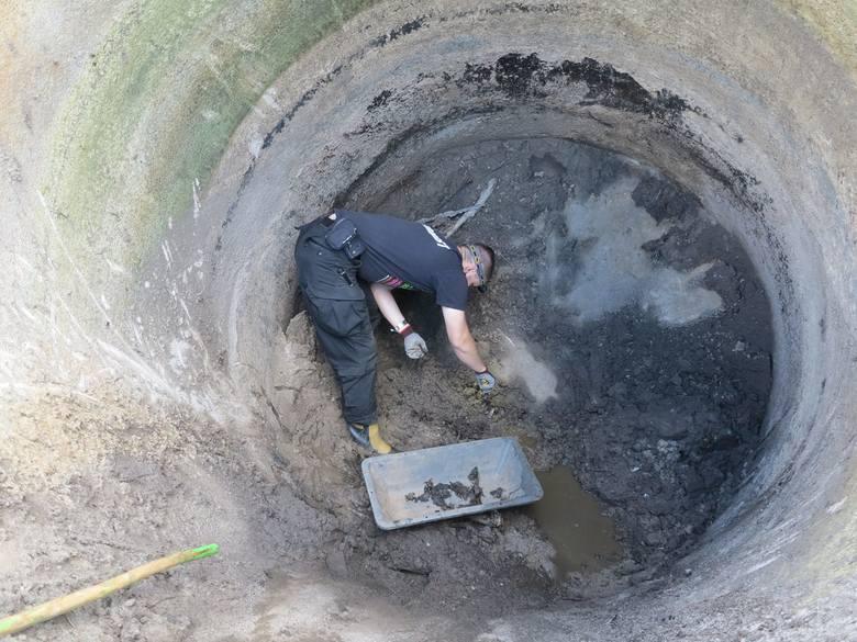 W starych silosach  znaleźli szczątki niemieckich żołnierzy