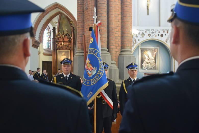 Białystok: Uroczystości pogrzebowe poległych strażaków