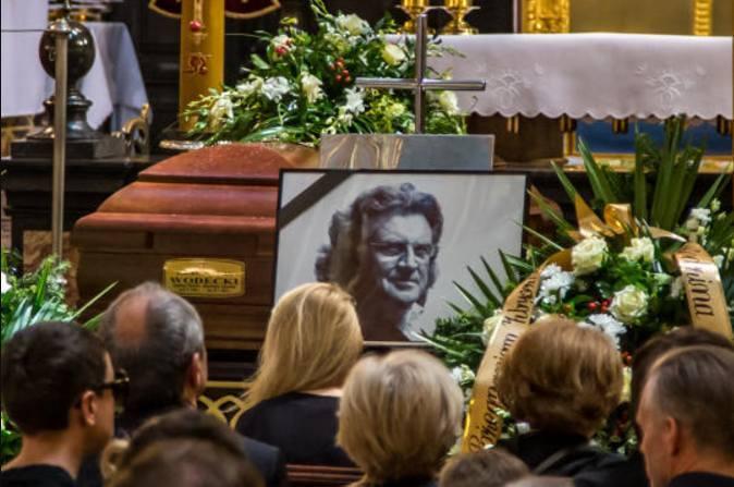 Ostatnie pożegnanie Zbigniewa Wodeckiego. Tłumy na pogrzebie