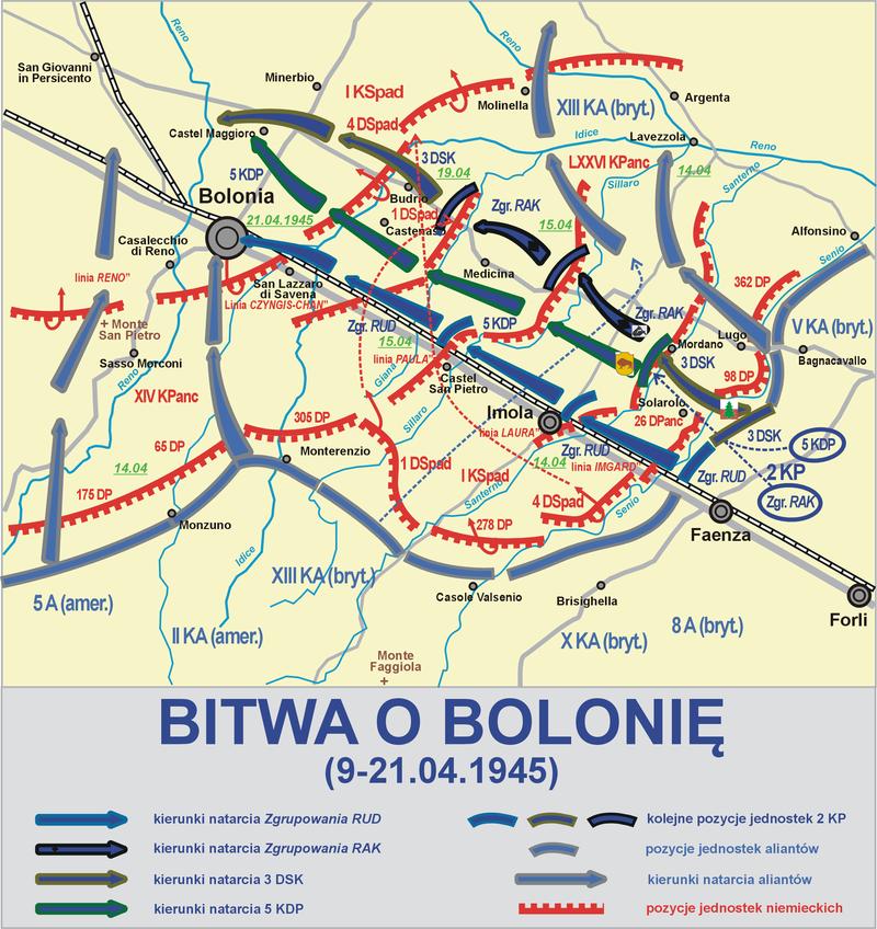 Żołnierze 2. Korpusu Polskiego uczczeni w Bolonii