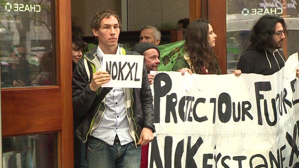 26 aktywistów klimatycznych aresztowanych w Seattle