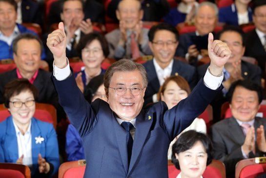 Mun Dze In nowym prezydentem Korei Południowej