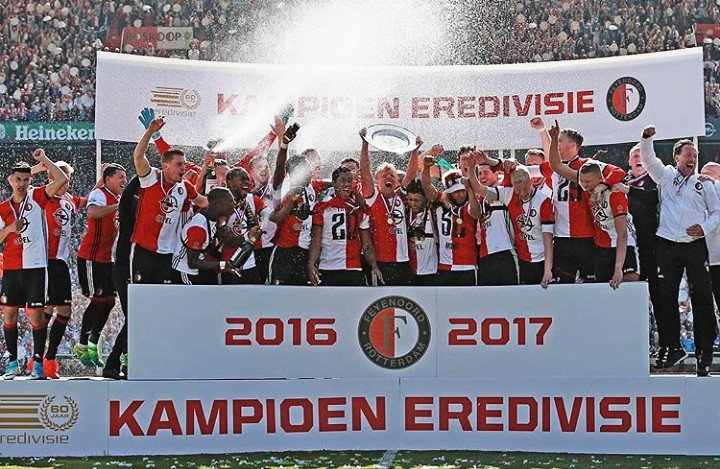 Feyenoord Rotterdam po 18 latach znów mistrzem Holandii!