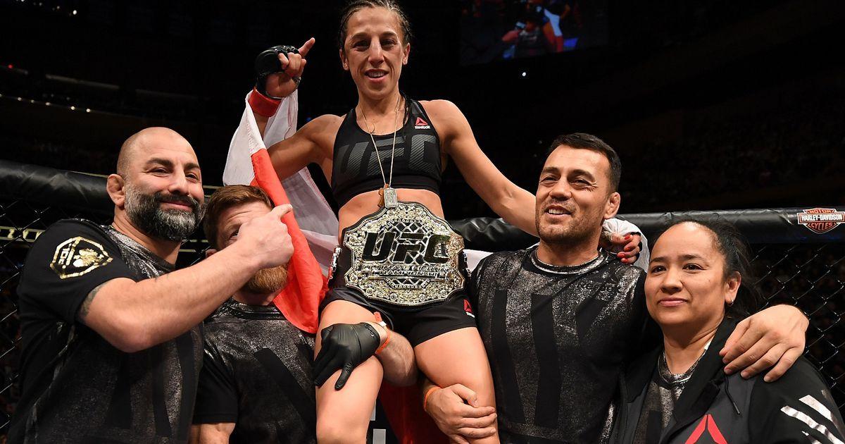 Joanna Jędrzejczyk obroniła mistrzowski pas UFC