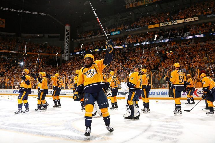 Nashville Predators pierwszymi półfinalistami Pucharu Stanleya