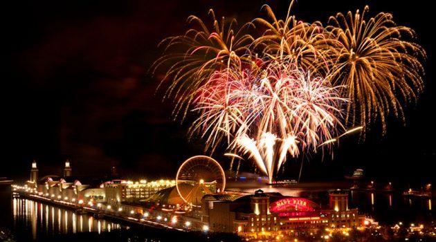 Pokazom fajerwerków na Navy Pier będzie towarzyszyć muzyka Rolling Stones