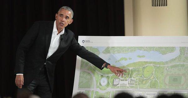 Prywatne firmy chcą finansować budowę prezydenckiego centrum w Chicago