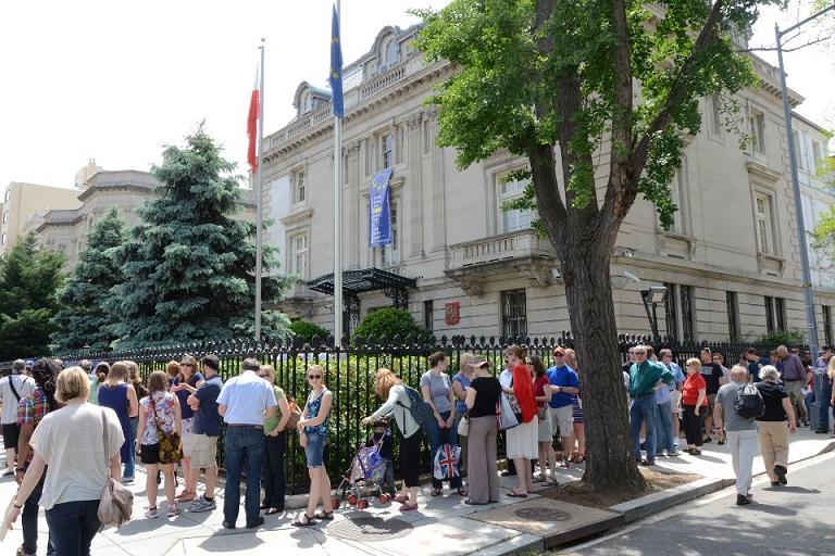 Dzień otwarty polskiej ambasady w Waszyngtonie