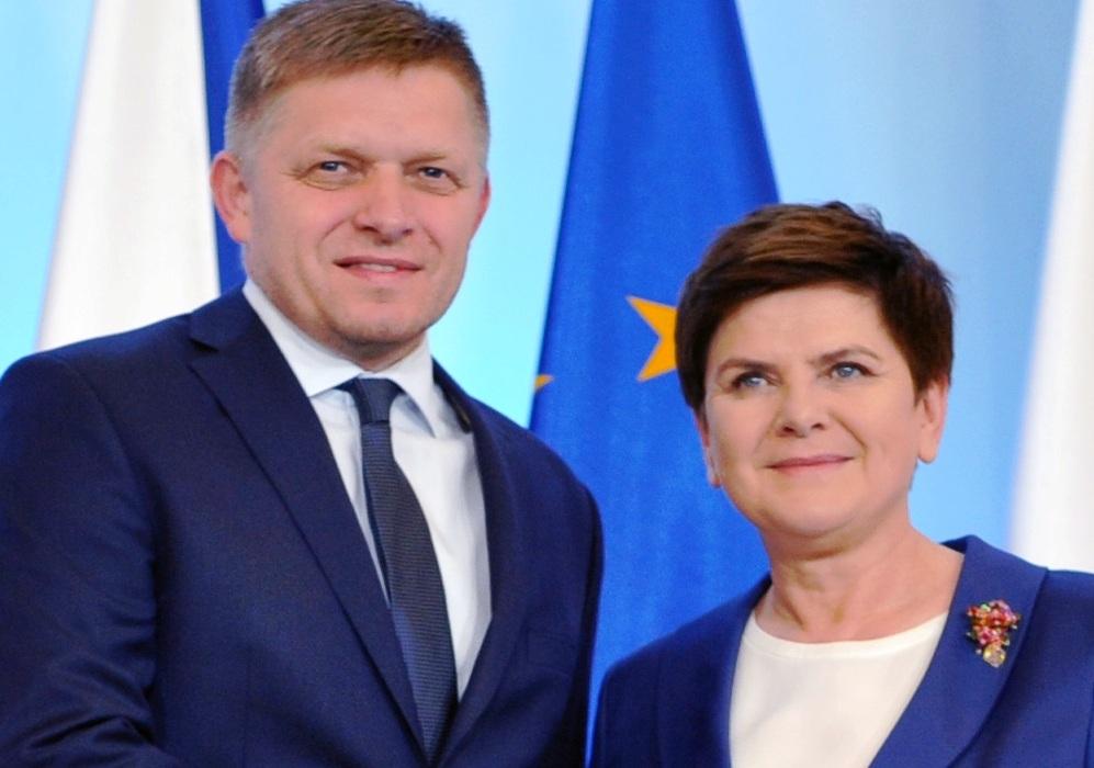 Premierzy Polski i Słowacji w obronie wspólnego rynku