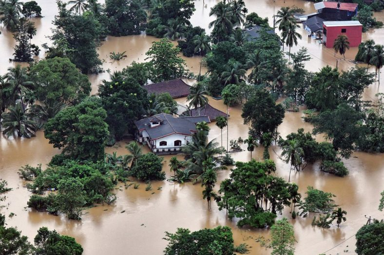 169 osób zginęło w powodziach na Sri Lance