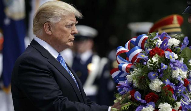 Donald Trump oddał hołd amerykańskim bohaterom z okazji Memorial Day