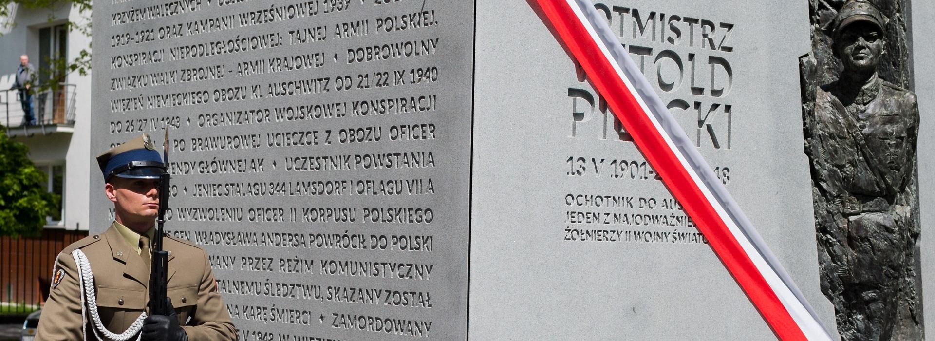 W Warszawie uczczono rotmistrza Pileckiego