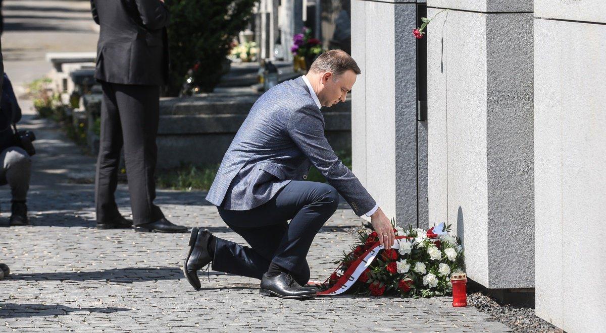 Prezydent złożył kwiaty przy Mauzoleum Wyklętych – Niezłomnych