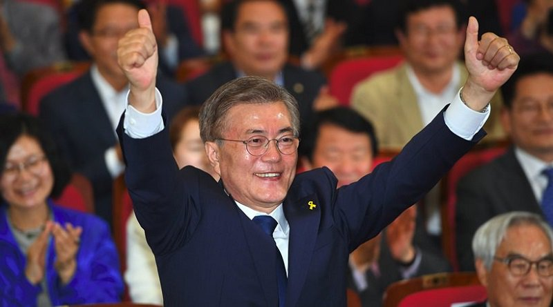 Mun Dze In objął urząd prezydenta Korei Południowej