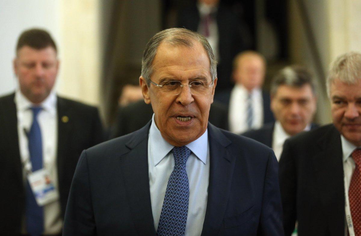 Rosyjski minister spraw zagranicznych w Waszyngtonie