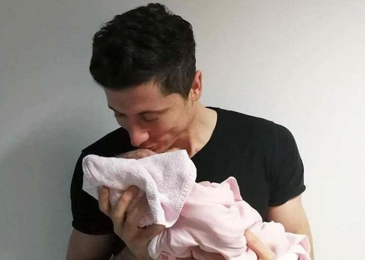 Robert Lewandowski został ojcem!