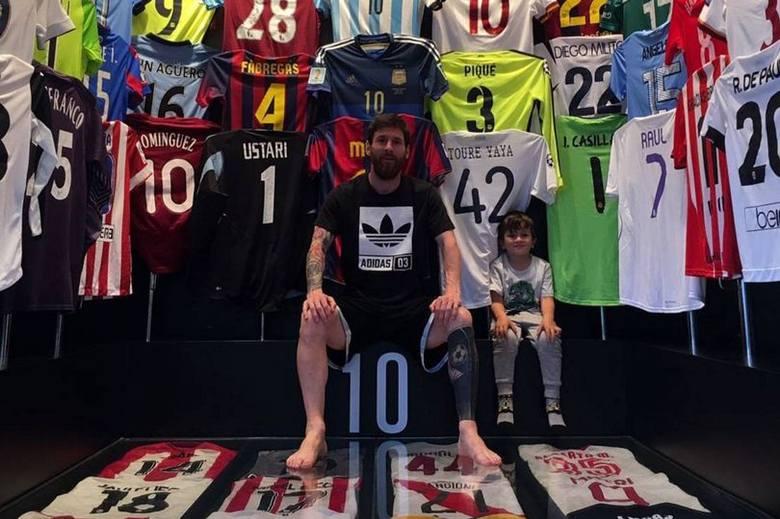 Leo Messi i jego niesamowita kolekcja koszulek
